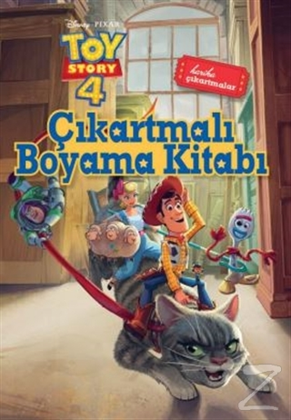 Çıkartmalı Boyama Kitabı - Toy Story 4 Kollektif
