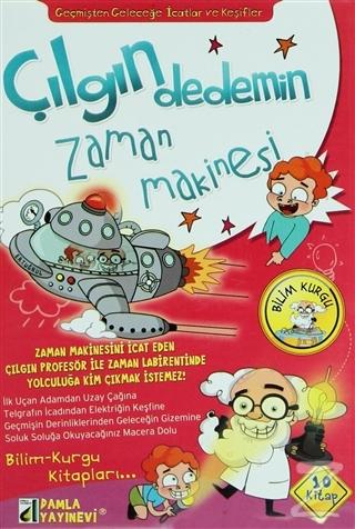 Çılgın Dedemin Zaman Makinesi İcatlar (10 Kitap Takım)