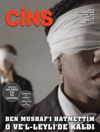 Cins Aylık Kültür Dergisi Sayı: 73 Ekim 2021