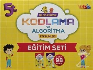Çocuklar İçin 5 Yaş üzeri Bilgisayarsız Kodlama ve Algoritma Eğitim Seti