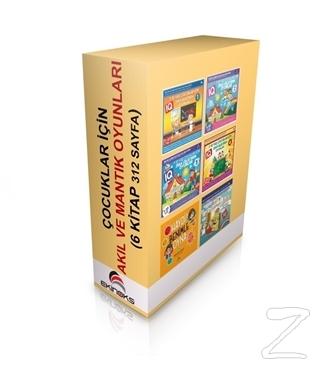 Çocuklar İçin Akıl ve Mantık Oyunları (6 Kitap Takım) Kolektif