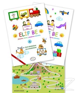 Çocuklar İçin Elif Be (2 Kitap Takım)