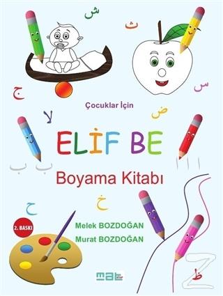 Çocuklar İçin Elif Be Boyama Kitabı - %17 indirimli  - Murat Bozdoğan