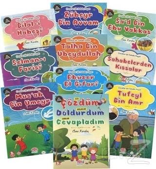 Çocuklar İçin Sahabe Hayatları Seti (10 Kitap Takım)