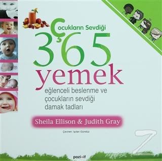 Çocukların Sevdiği 365 Yemek
