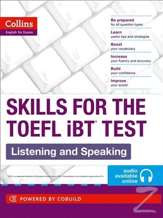 Collins Skills for the TOEFL iBT Listening and Speaking + Audio Online