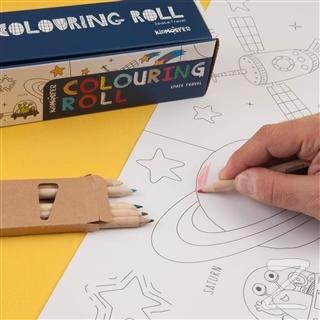 Colouring Roll Space Travel (Boyama Kağıdı Rulo)