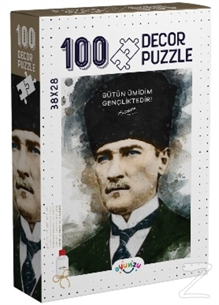 Decor Atatürk 100 Parça Puzzle