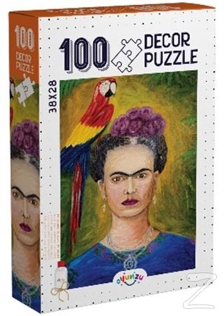 Decor Frida Kahlo 100 Parça Puzzle