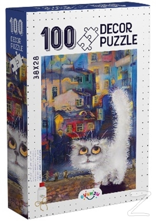 Decor Kedi 100 Parça Puzzle