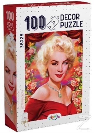 Decor Marilyn Monroe 100 Parça Puzzle