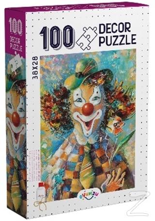 Decor Palyaço 100 Parça Puzzle