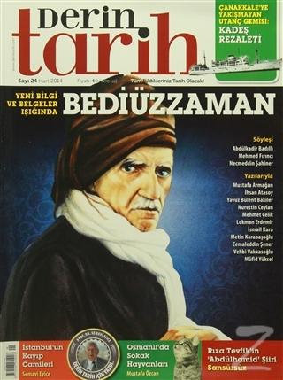Derin Tarih Aylık Tarih Dergisi Sayı: 24 Mart 2014