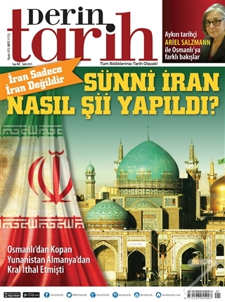 Derin Tarih Aylık Tarih Dergisi Sayı: 42 Eylül 2015