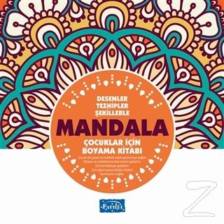Desenler Tezhipler Şekillerle Mandala - Turuncu Kitap Muhammet Cüneyt