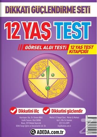 Dikkati Güçlendirme Seti 12 Yaş Test