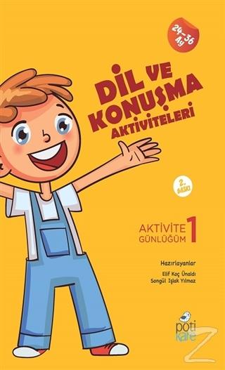 Dil ve Konuşma Aktiviteleri - Aktivite Günlüğüm 1