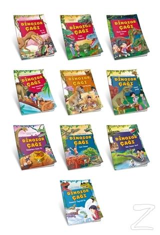 Dinozor Çağı Seti (10 Kitap Takım)