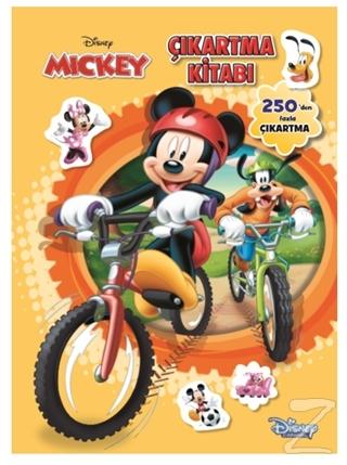 Disney Mickey Çıkartma Kitabı