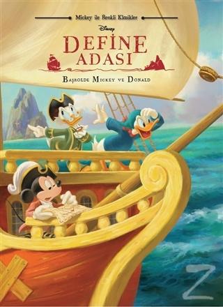 Disney Mickey ile Renkli Klasikler Define Adası