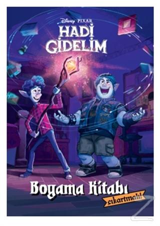 Disney Pixar Hadi Gidelim Çıkartmalı Boyama Kitabı