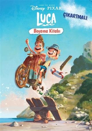 Disney Pixar Luca Çıkartmalı Boyama Kitabı