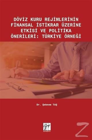 Döviz Kuru Rejimlerinin Finansal İstikrar Üzerine Etkisi ve Politika Önerileri: Türkiye Örneği