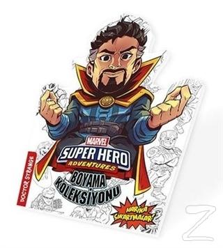 Dr. Strainge - Marvel Süper Kahramanlar Boyama Koleksiyonu