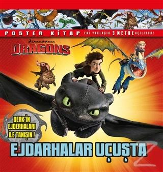 DreamWorks Dragons - Ejderhalar Uçuşta (Poster Kitap) (Ciltli)