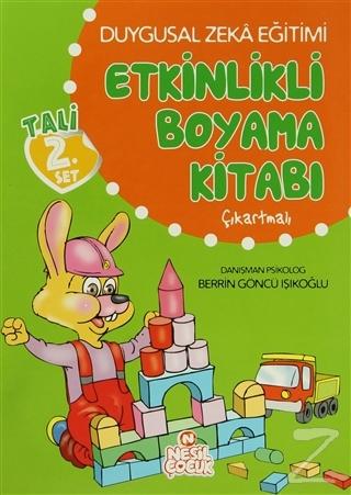 Duygusal Zeka Eğitimi Etkinlikli Boyama Kitabı - Tali 2