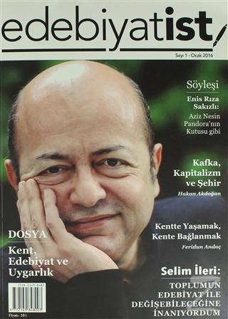 Edebiyatist Dergisi Sayı: 1 Ocak 2016