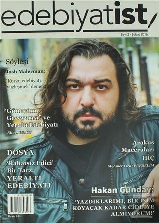Edebiyatist Dergisi Sayı: 2 Şubat 2016