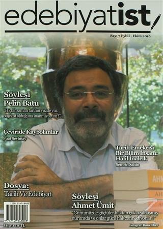Edebiyatist Dergisi Sayı: 7 Eylül - Ekim 2016
