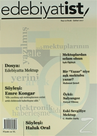 Edebiyatist Dergisi Sayı: 9 Ocak - Şubat 2017