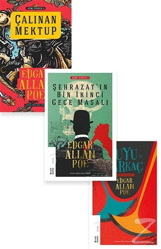 Edgar Allan Poe Seti (3 Kitap Takım) Çanta Hediyeli