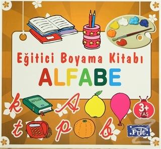 Eğitici Boyama Kitabı - Alfabe