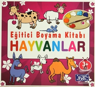 Eğitici Boyama Kitabı - Hayvanlar