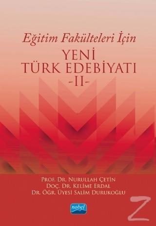 Eğitim Fakülteleri İçin Yeni Türk Edebiyatı 2