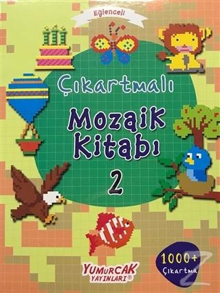 Eğlenceli Çıkartmalı Mozaik Kitabı 2