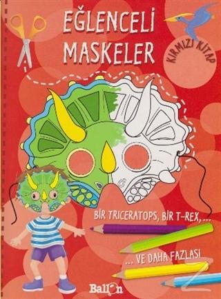 Eğlenceli Maskeler Kırmızı Kitap