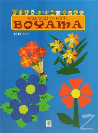 Eğlenceli ve Eğitici Boyama - Bitkiler