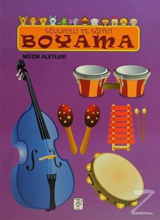 Eğlenceli ve Eğitici Boyama - Müzik Aletleri