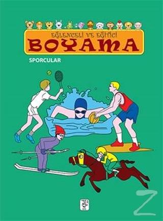 Eğlenceli ve Eğitici Boyama - Sporcular
