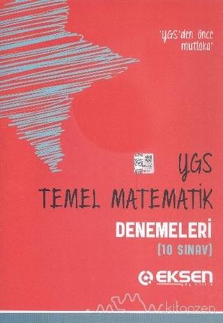 Eksen YGS Temel Matematik Denemeleri (10 Sınav)