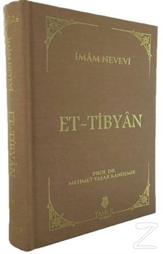 Et-Tibyan (Ciltli) İmam Nevevi
