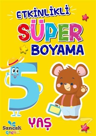 Etkinlikli Süper Boyama - 5 Yaş