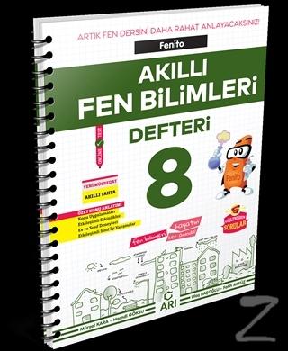 Fenito Akıllı Fen Bilimleri Defteri 8 Mustafa Karaca