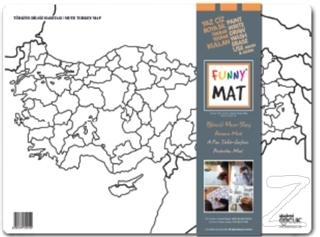 Funny Mat - Türkiye Dilsiz Haritası