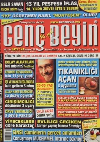 Genç Beyin Dergisi Sayı 124