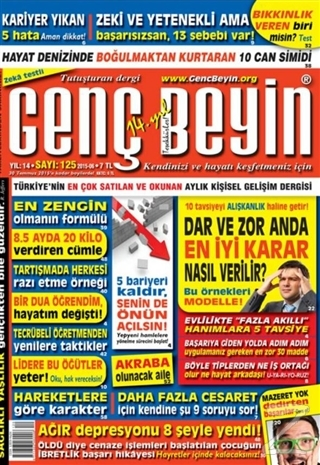 Genç Beyin Dergisi Sayı 125